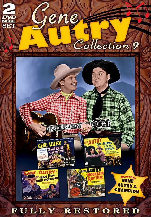 Gene autry movie collection 9 (DVD) - image 1 of 1