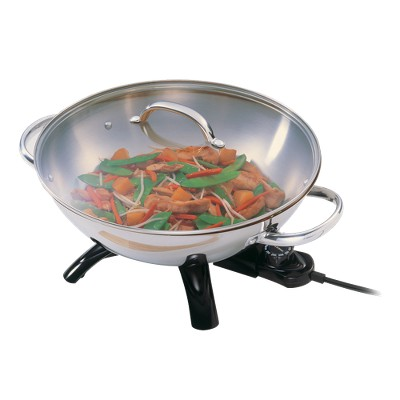 Presto® Stainless Steel Electric Wok- 05900