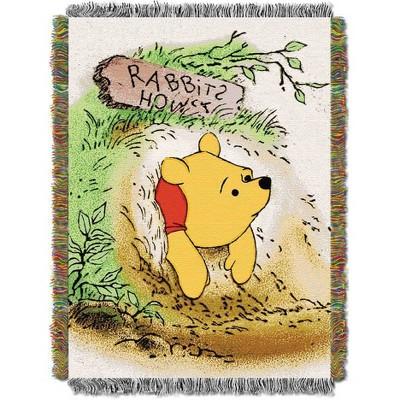 Disney Winnie the Pooh Vintage Pooh Tapestry Throw