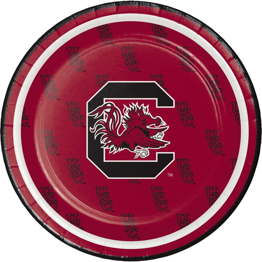 8ct South Carolina Gamecocks Dessert Plates