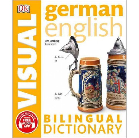 German English Visual Bilingual Dictionary (Paperback) - image 1 of 1