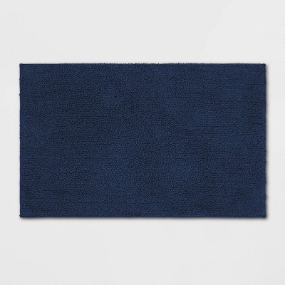 Soft Solid Bath Mat Academy Blue - Opalhouse™
