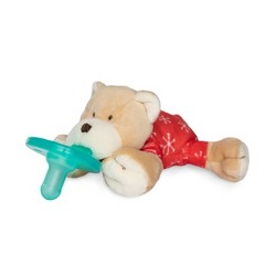 WubbaNub Holiday Bear Pacifier