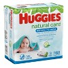 Huggies Natural Care Cucumber & Green Tea Scented Baby Wipes (Select Count) - image 3 of 4