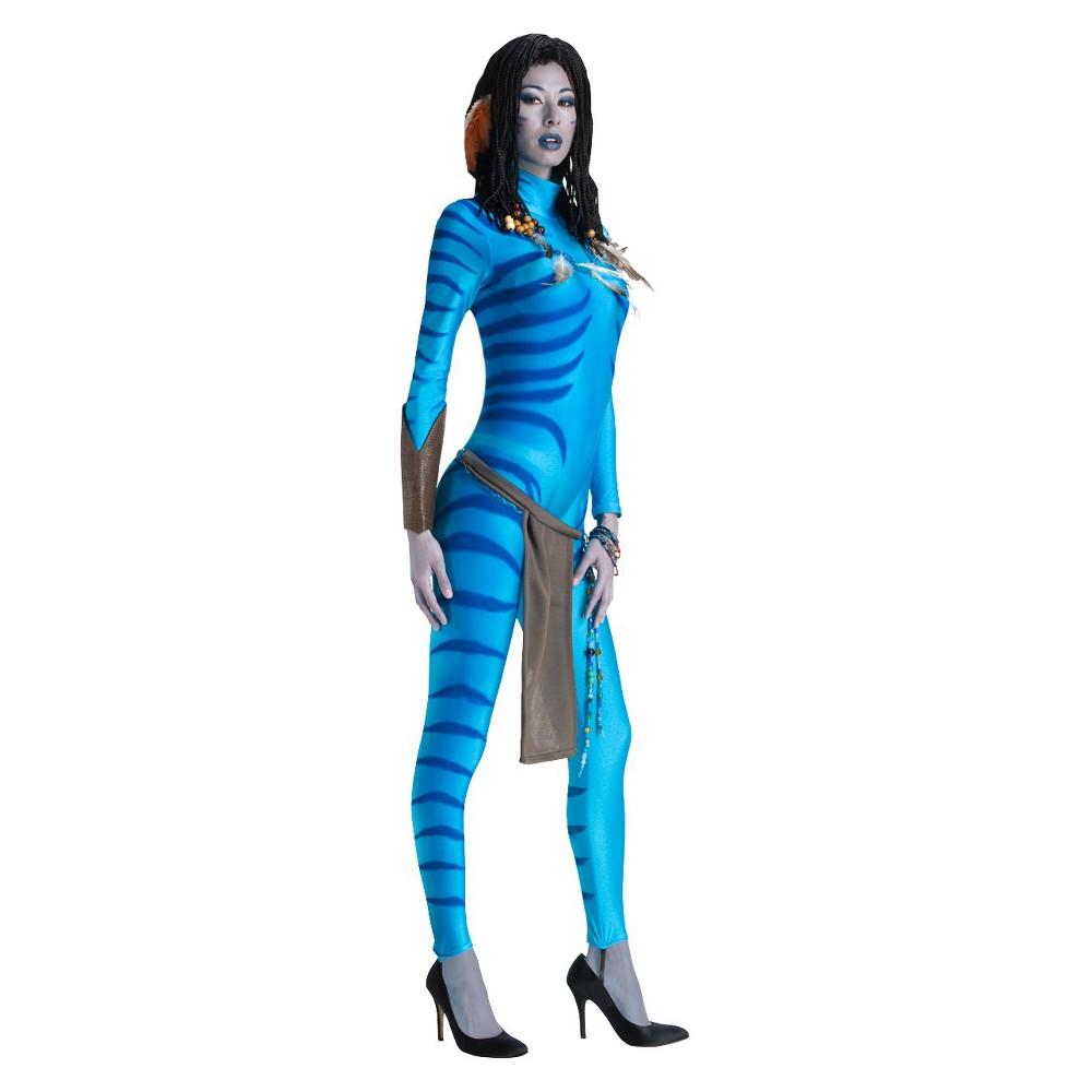 Avatar Women's Neytiri Costume Medium, Size: M(8-10), Blue