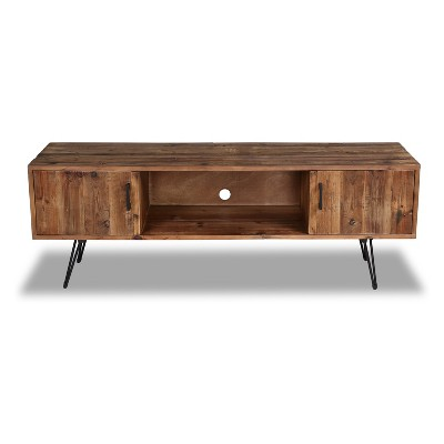 "Middleton Foldable 60"" TV Stand Reclaimed Brown - Crawford & Burke"