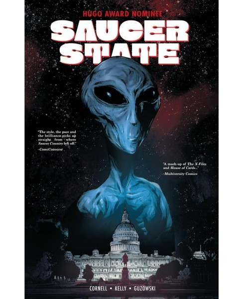 Saucer State -  by Paul Cornell (Paperback) - image 1 of 1