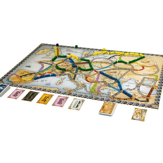 Ticket To Ride Europe Board Game image number null