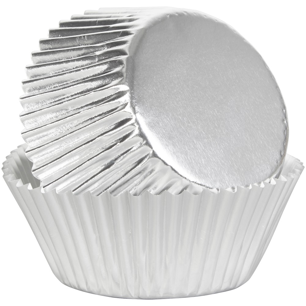 24ct Baking Cups - Wilton, Silver