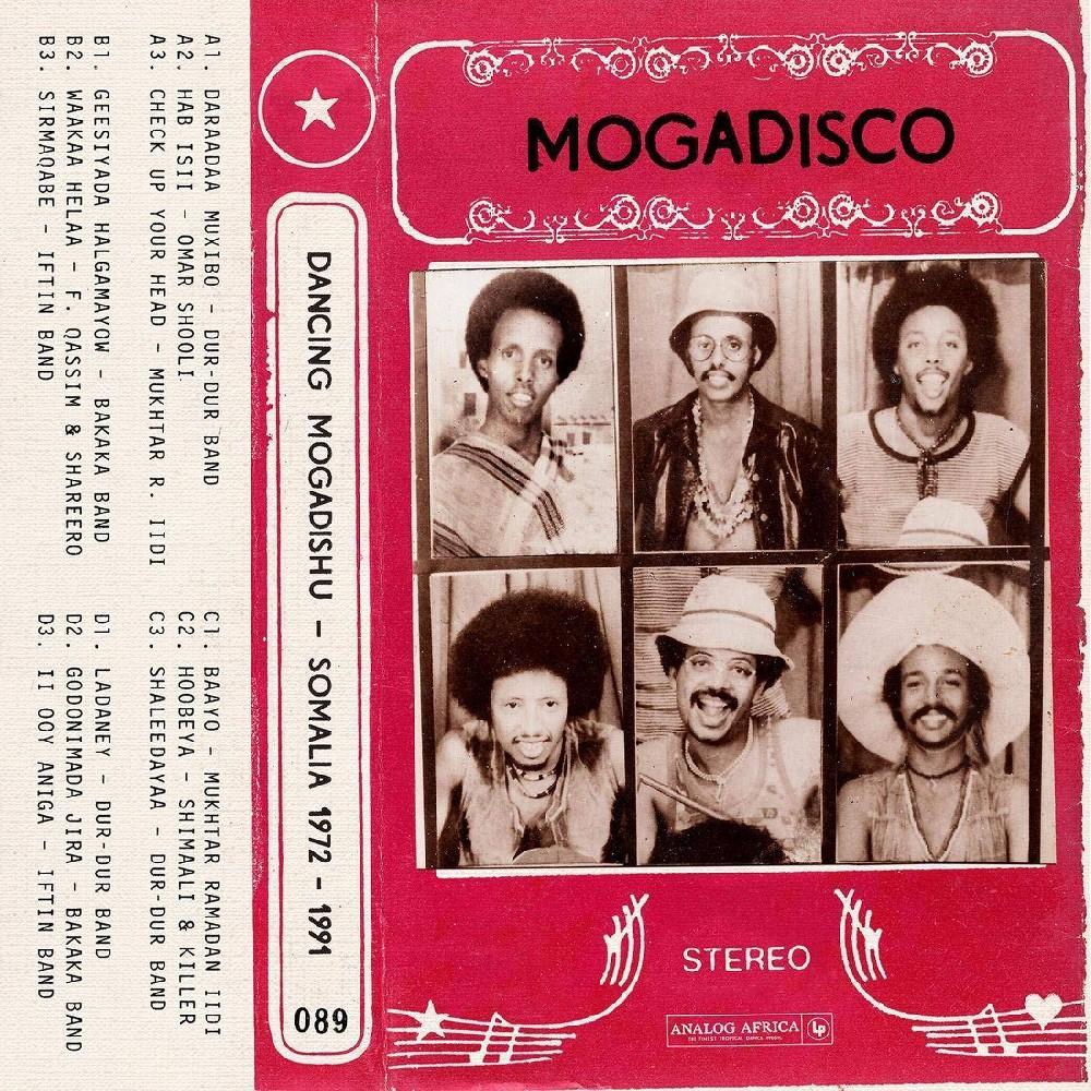 Various Artists Mogadisco Dancing Mogadishu Somalia 1972 1991 Cd