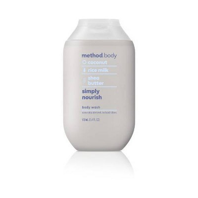 Method Mini Experiential Body Wash Simply Nourish - Trial Size - 3.4 fl oz
