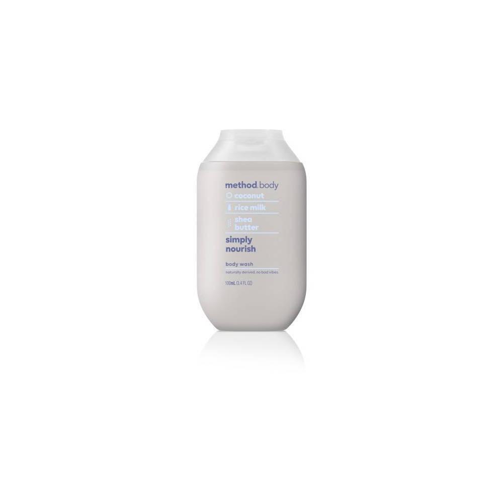 Image of Method Mini Experiential Body Wash Simply Nourish - 3.4 fl oz