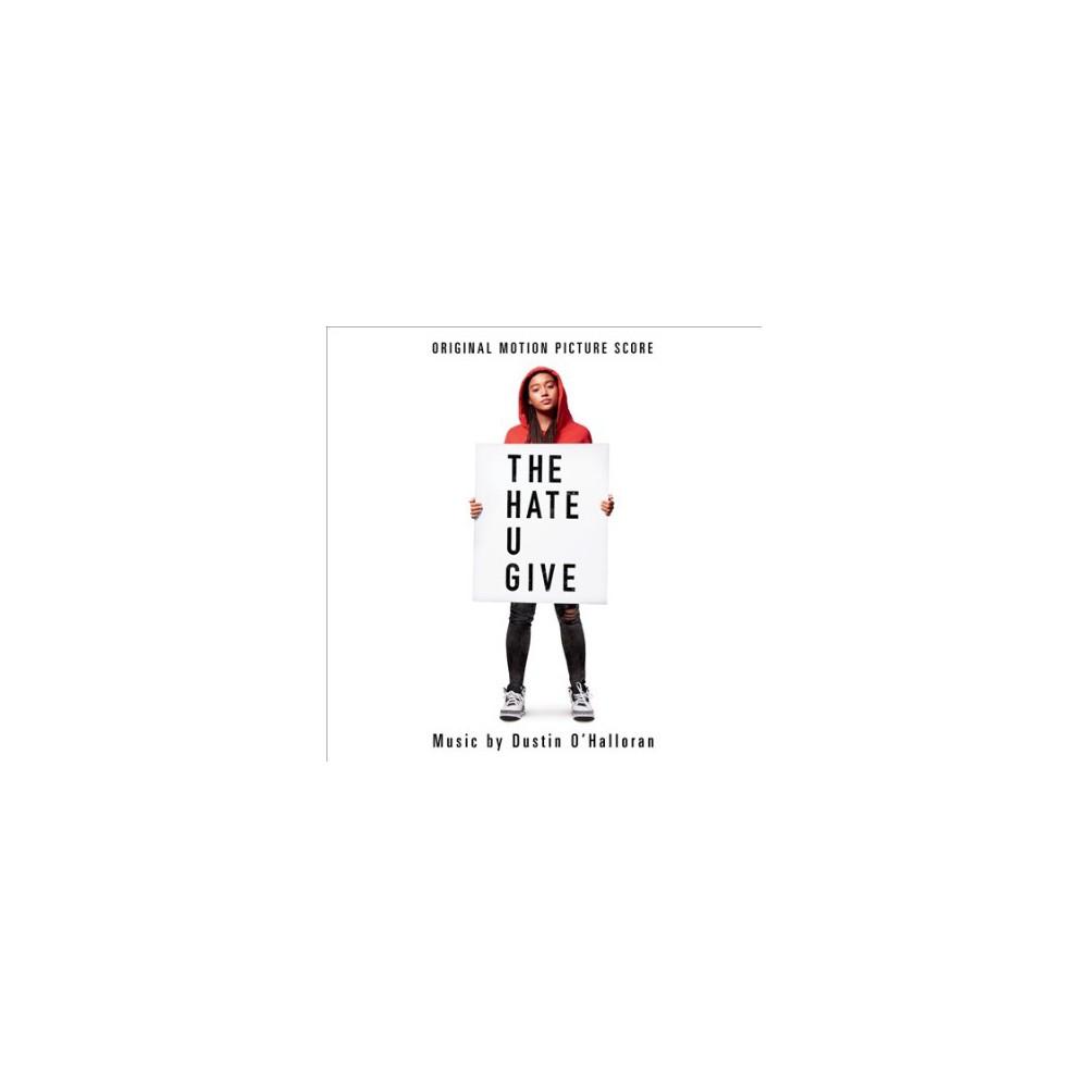 Dustin O'halloran - Hate U Give (Osc) (CD) Dustin O'halloran - Hate U Give (Osc) (CD)