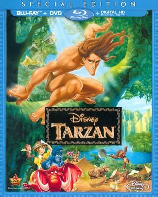 Tarzan (2 Discs)(Includes Digital Copy)(Blu-ray/DVD)