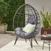 Gianni Wicker Teardrop Chair - Christopher Knight Home - image 2 of 4