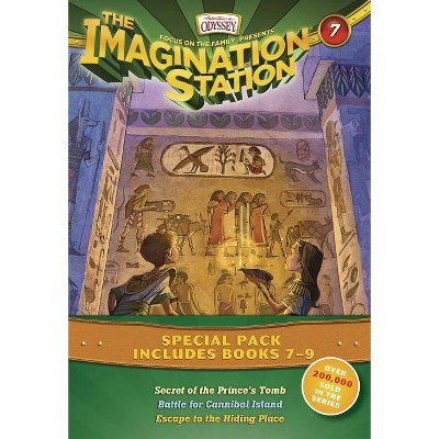 The Imagination Station Special Pack, Books 7-9 - (Imagination Station Books) by  Marianne Hering & Marshal Younger & Wayne Thomas Batson (Paperback)