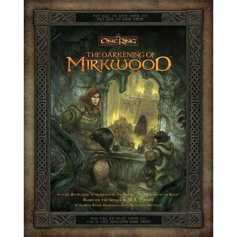 Darkening of Mirkwood - (One Ring) by  Cubicle 7 (Hardcover) - image 1 of 1