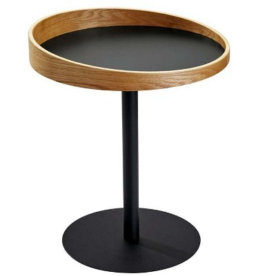 Crater End Table - Natural - Adesso