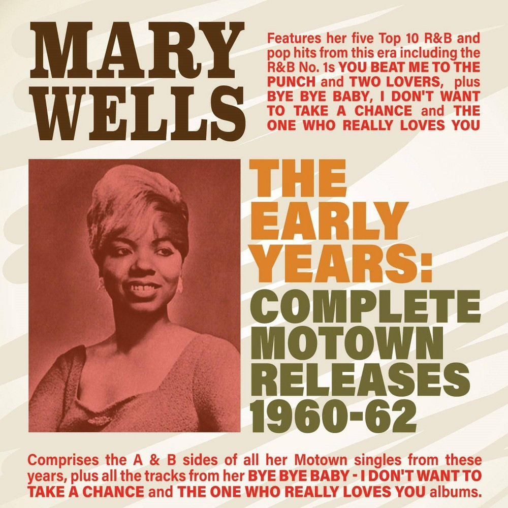 Wells mary - The early years complete motown releases 1960-62 (CD)