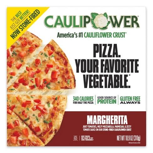 CAULIPOWER Margherita Cauliflower Crust Frozen Pizza - 10.9oz - image 1 of 4
