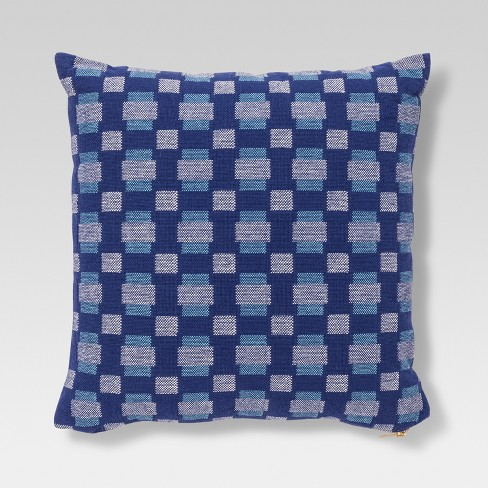 Geo Throw Pillow - Blue - Project 62™ - image 1 of 2
