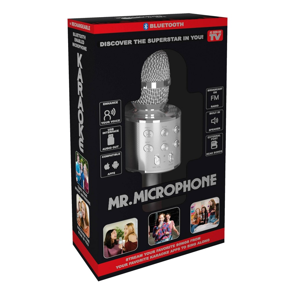 Image of As Seen on TV Mr. Microphone, Silver