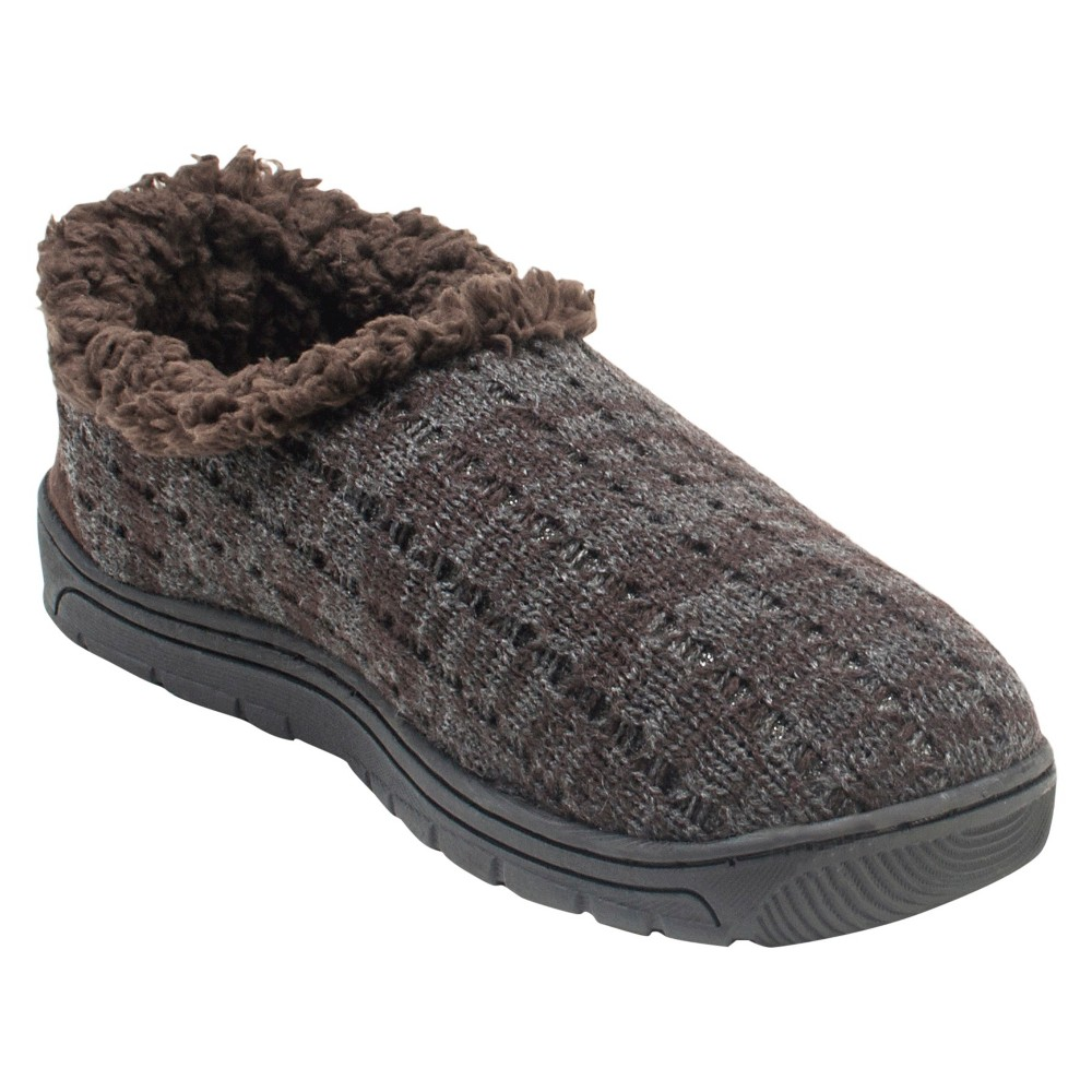 Men's Muk Luks John Loafer Slippers - Chocolate (Brown) S