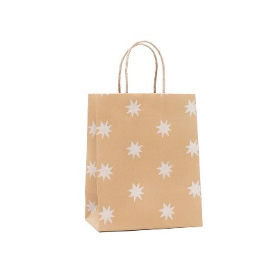 Small Recycled Paper Star Kraft Gift Bag - Spritz™