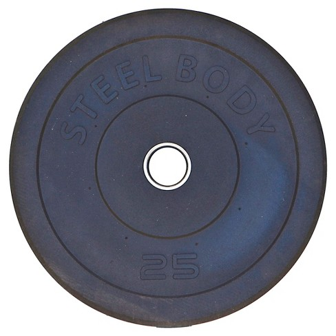 Steelbody 25 lb. Olympic Rubber Plate (STBR-0025) - image 1 of 1
