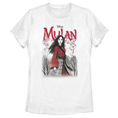 Women's Mulan Blossom Pose T-Shirt