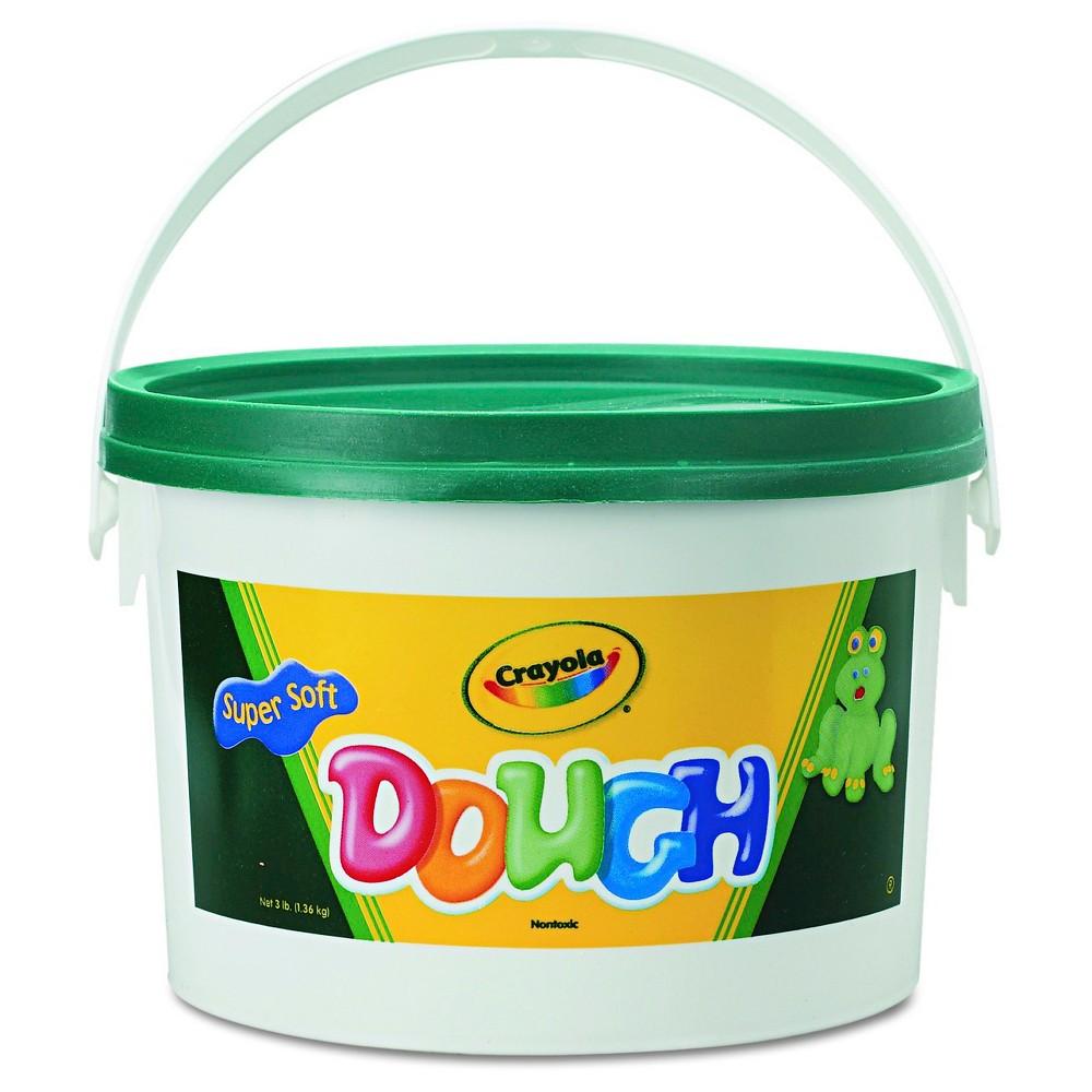 Image of Crayola Modeling Dough Bucket 3lbs Green