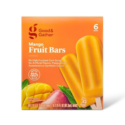 Frozen Mango Fruit Bars - 16.5oz/6ct - Good & Gather™