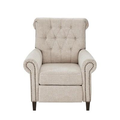 Zak Recliner Chair Cream