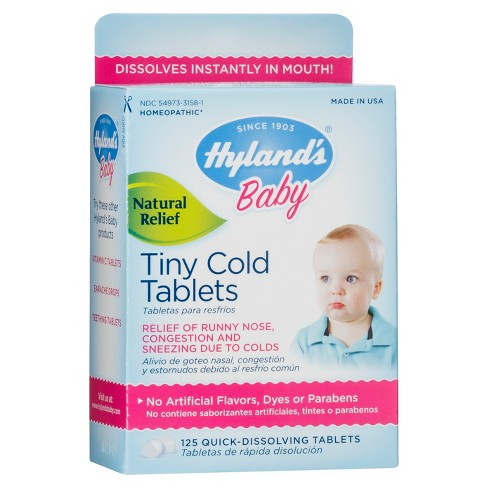Hyland's Baby Tiny Cold Tablets - 125ct - image 1 of 1