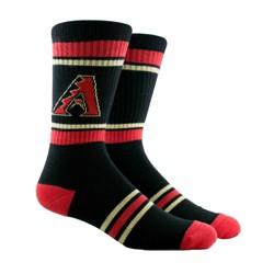 MLB PKWY Pinstripe Crew Sock