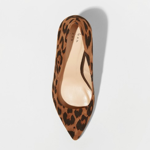 3cb6dc08f4ac Women s Gemma Faux Leather Leopard Pointed Toe Heeled Pumps - A New ...