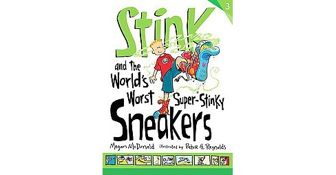 Stink and the World's Worst Super-stinky Sneakers (Reprint) (School And Library) (Megan McDonald) - image 1 of 1