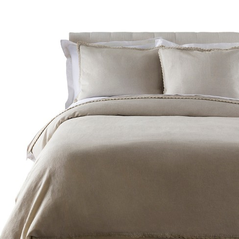 Anarita Solid Duvet Set Light Gray - Surya® - image 1 of 1