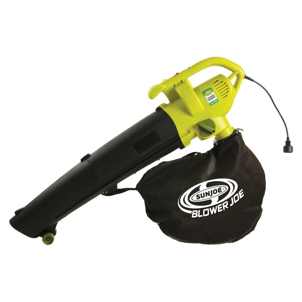 Sun Joe 12 Amp 3-in-1 Electric Blower, Vacuum, Mulcher, Black