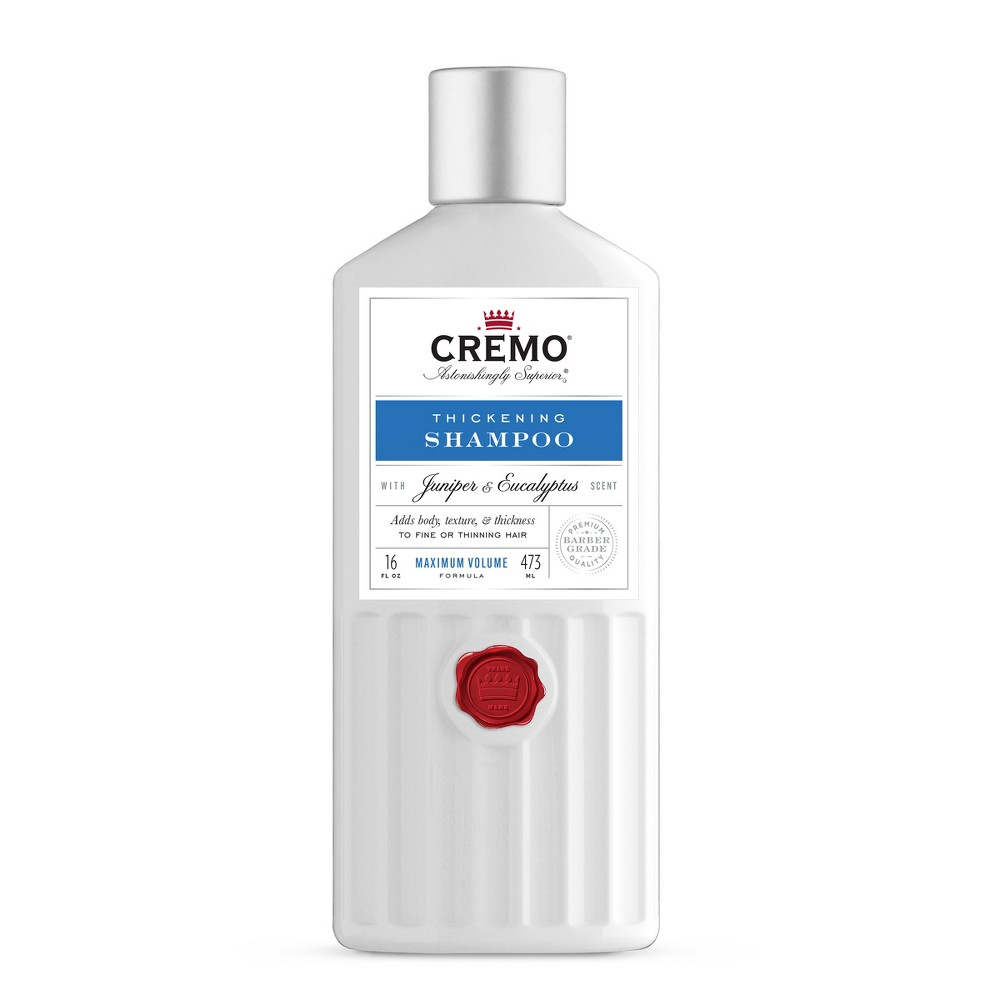 Cremo Thickening Shampoo - 16oz Cremo Thickening Shampoo - 16oz Gender: Male.