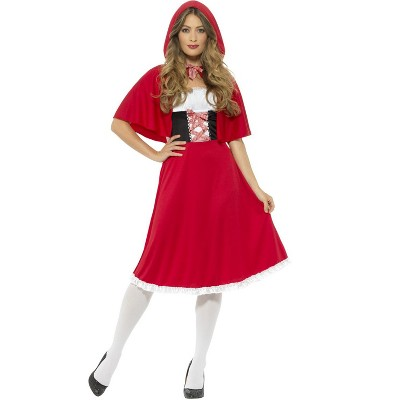 Smiffy Sweet Red Riding Hood Adult Costume