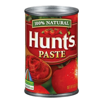 Canned Tomatoes & Paste: Hunt's Paste