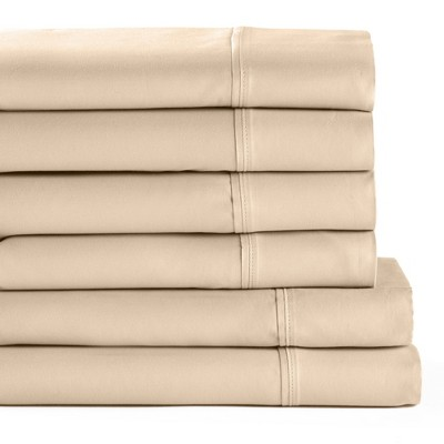 Lakeside Be Cool Cotton Bedding Sheets Set - Breathable Cover for Sleeping