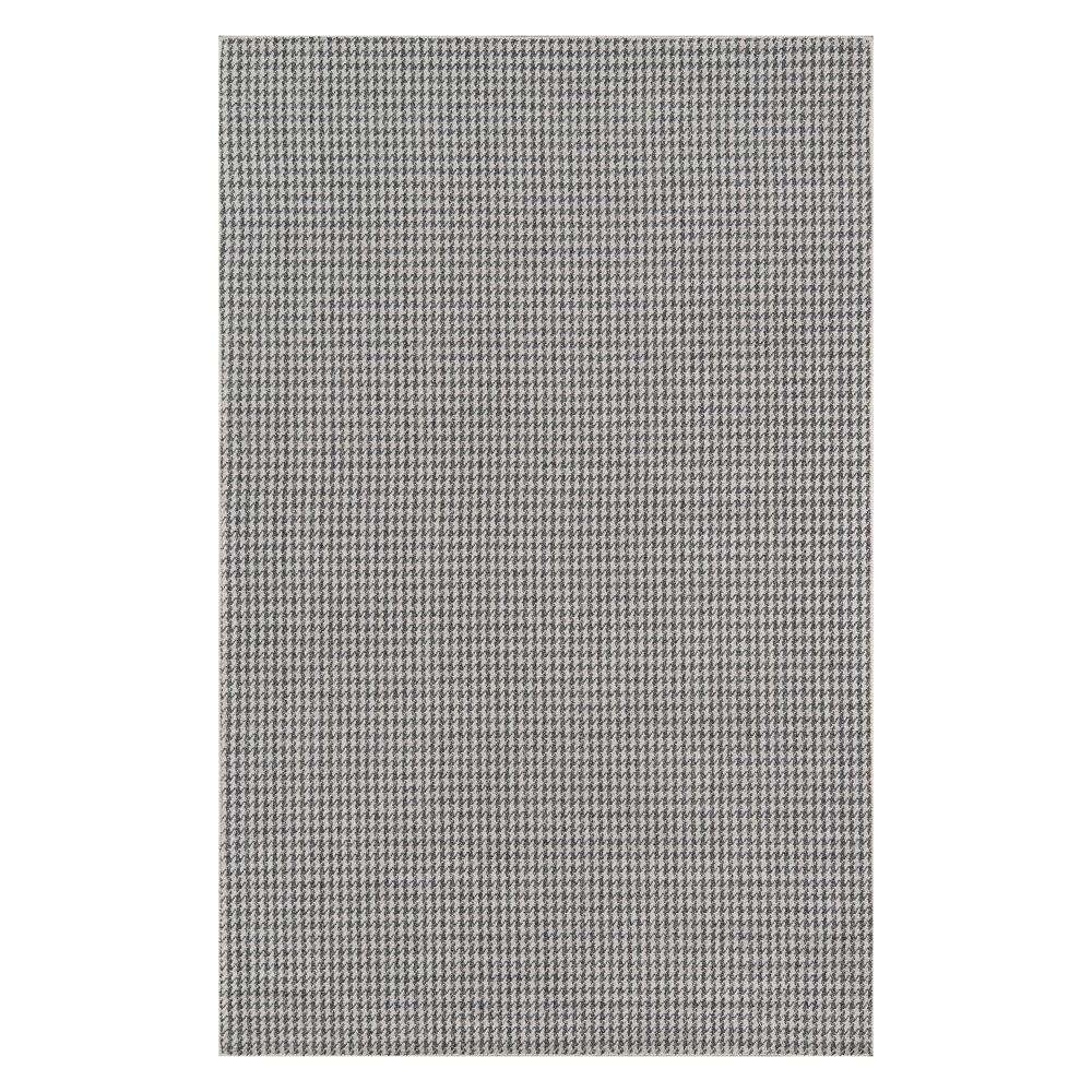 5'X8' Geometric Woven Area Rug Charcoal (Grey) - Momeni
