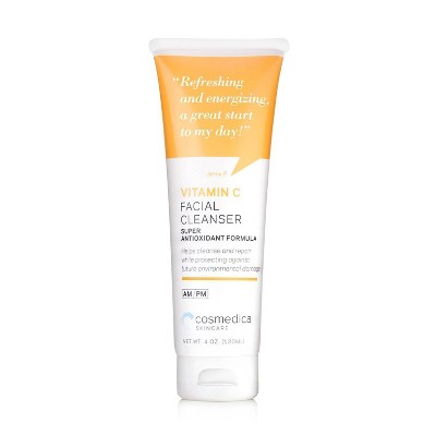 Cosmedica Skincare Vitamin C Facial Cleanser - 4oz