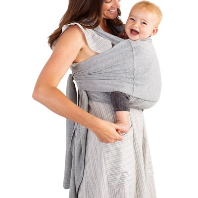 Moby Fit Hybrid Baby Carrier - Gray