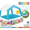 Intex Inflatable Ocean Scene Sun Shade Kids Pool With Canopy   57470Ep (2 Pack) - image 6 of 6
