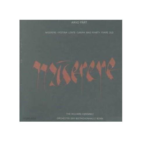 Bonn Beethovenhalle Orchestra - Part:Miserere (CD) - image 1 of 1