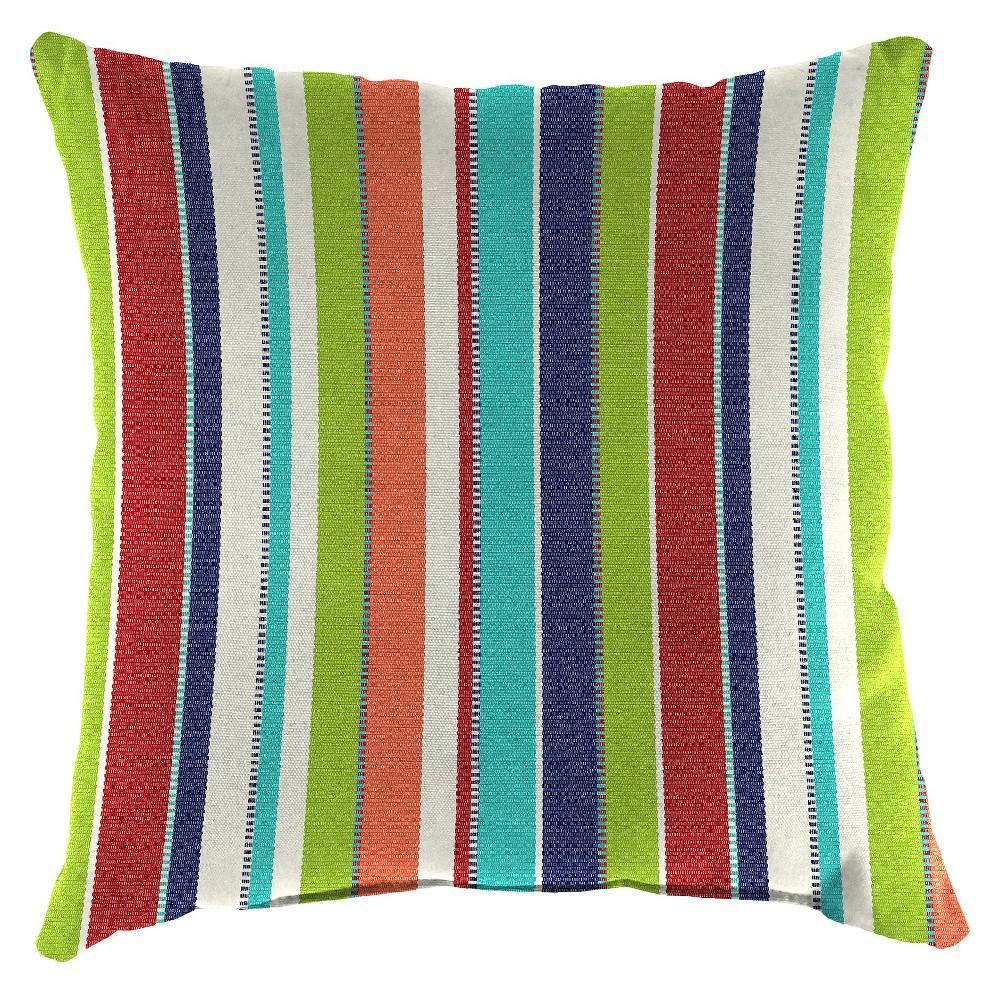 Jordan Set of Square Toss Pillows, Multi-Colored