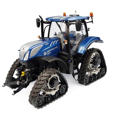 """New Holland T7.225 """"Blue Power"""" Tractor with Tracks 1/32 Diecast Model by Universal Hobbies"""